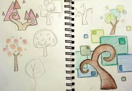 visual diary major project design