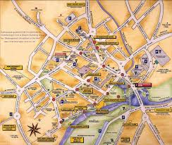 Map Of Oxford England by Stratford Upon Avon For Accommodation Touring Dining Walking