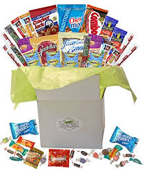 thinking of you gift baskets snack gift basket care package with sweet and salty