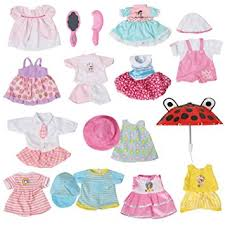 amazon com set of 12 handmade baby doll clothes dress