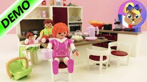 cuisine playmobile grande cuisine familiale playmobil avec four cuisinière lave