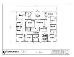 medical clinic floor plans 64 x 48 clinic building floor plan permanent modular building