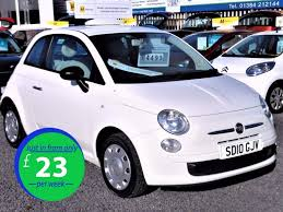 fiat 500 hatchback used fiat 500 for sale west midlands