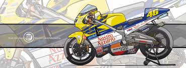 honda nsr racing cafè motorcycle art honda nsr 500 2001 by evan deciren
