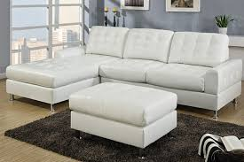 microfiber chaise sofa innovative white leather sectional with chaise contemporary white