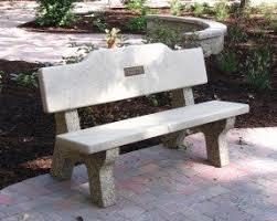 memorial benches concrete memorial benches foter