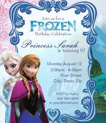 10 frozen invitation template free sample format