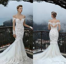 new lace plus size wedding dress 2016 beautiful long sleeve michal