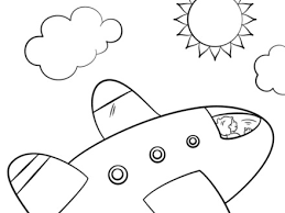 pics photos airplane coloring sheets on printable airplane