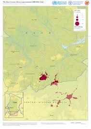 Atlas Map Who Mapping The Distribution Of Human African Trypanosomiasis