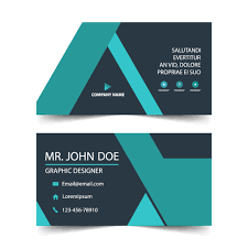 blue corporate business card name card template template free