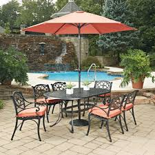 patio table chairs umbrella set weather resistant patio dining sets patio dining furniture