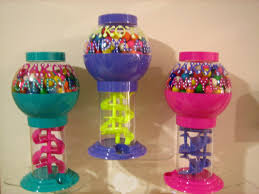 gumball party favors personalized party favor large gumball machine birthday baby