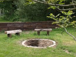 Garden Firepit Pit Landscaping Ideas Wonderfull Design Pits Designs Backyard