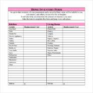 Simple Inventory Sheet Template Easy To Use Home Inventory Sheet Template With Pink Color And