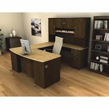 Bestar U Shaped Desk Bestar Merritt 3 U Shape Workstation