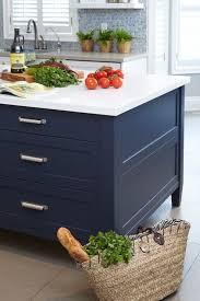 Dark Blue Kitchen Best 25 Blue Kitchen Island Ideas On Pinterest Painted Island
