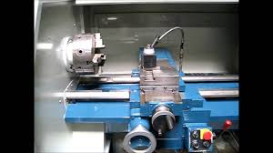 bridgeport ez path 16x40 cnc manual lathe under power u0026 for sale