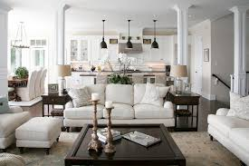 Transitional Pendant Lighting Kitchen Rug Sets Living Room Traditional With Open Concept