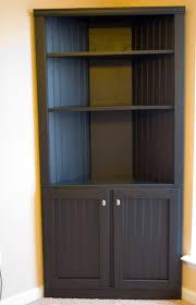 ana white corner cabinet storage shelf diy projects