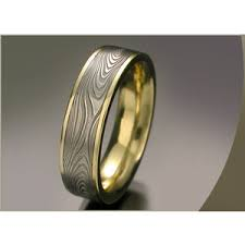 Steel Wedding Rings by Damascus Steel Wedding Rings Bands Unique Men U0027s Rings