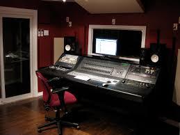 Small Recording Studio Desk Simple Bedroom Recording Studio Interior Design