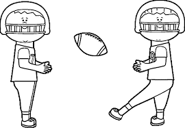 Kids Playing Football Playing Football Coloring Page Wecoloringpage Football Coloring Page