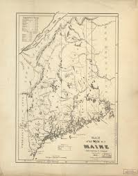 map of maine map cabinet maine an encyclopedia