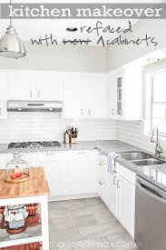 modern farmhouse kitchen cabinets white 10 fab farmhouse kitchen makeovers where they painted the
