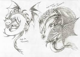 free dragon sketches 04 by lightenddragon on deviantart