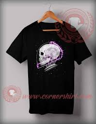 Skull Racer T Shirt Halloween Shirts For Adults By Cornershirt Com