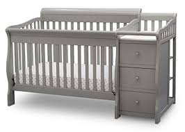 Affordable Convertible Cribs Delta Children Princeton Junction Convertible Crib N Changer Grey