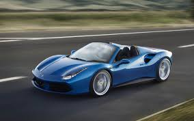 ferrari 488 gtb car ferrari 488 gtb convertible motion blur road cgi car