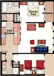 2 Bedroom Condo Floor Plan Two Bedroom Floor Plans Myrtle Beach Resort