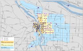 Portland Traffic Map by April 21 2015 U2013 Bicycle Insurance Portland