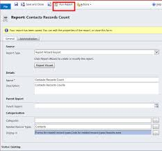 how to find total record count in microsoft dynamics crm 2011 2013