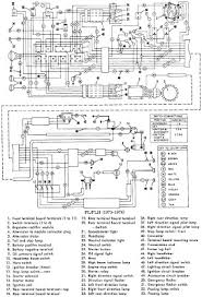 harley davidson fl flh 1973 74 motorcycle electrical wiring