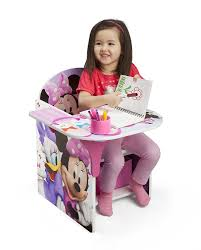Minnie Mouse Table And Chairs Amazon Com Delta Children Chair Desk With Storage Bin Disney