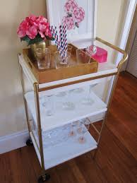 fancy bar cart ikea that you can decorate by yourself homesfeed