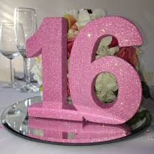 Sweet 16 Table Centerpieces Sweet 16 Table Decorations Birthday Themes For Sweet 16