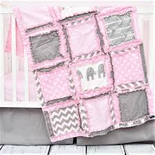 Pink And Gray Crib Bedding Elephant Baby Crib Bedding Baby Pink Gray Nursery A
