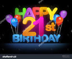 Image result for 21st birthday jim banner balloons