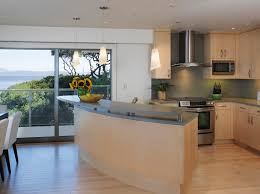 Curved Island Kitchen Designs Modern Kitchen Cabinet Handles Kitchen Contemporary With Bay Area