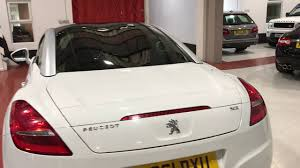 peugeot main dealer for sale 2011 peugeot rcz 1 6 thp 156 gt coupe cars2you used