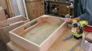 how to build a bathroom vanity cabinet part 1 youtube benevola