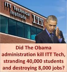 Itt Tech Meme - did the obama administration kill itt tech stranding 40 000