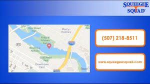 Rochester Mn Map Squeegee Squad Rochester Mn Window Cleaning Youtube