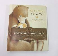 recordable photo album welcome my hallmark recordable story book ship ebay