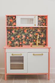 ikea toy storage hacks anchors u0026 honey ikea duktig kitchen hack 8 thrift store