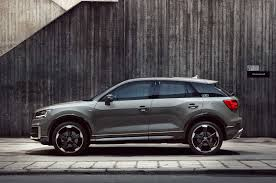 black audi audi q2 edition 1 limited run model on sale this september autocar